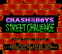 Crashn the Boy street challenge